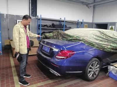 央视曝光郑州奔驰维修猫腻!4S店维修被换三无中缸,中国人寿被诉